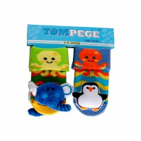 KAOS KAKI BONEKA 2 PCS - BABY BOY SOCKS 2 PCS - NB +