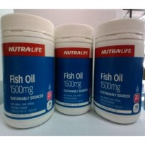 Nutralife Fish Oil Isi 180 Capsules