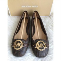 michael kors fulton signature brown authentic