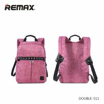 Remax Fashion Notebook Bags - Double 511 - Pink