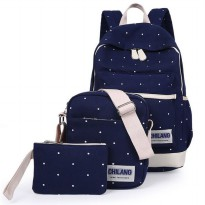 Tas Ransel 3 in 1 - Dark Blue