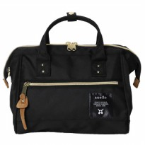 Tas Selempang Wanita Anello Handle Fashion Shoulder Bag S Size - Black