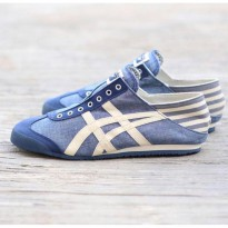 Asics Onitsuka Tiger Mexico 66 Paraty Slip On Blue Jeans