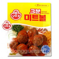 Ottogi 3 minutes Meatballs 150g / domestic chicken using / snacks / snack / 3 min Cooking / Curry / Sauce / fly / East Grand