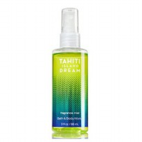 BATH&BODY WORKS TRAVEL FINE FRAGRANCE MIST TAHITI ISLAND DREAM 88ML