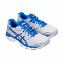 Sepatu Olahraga Lari Fitness Gym Asics Gt-2000 7 Men's Running Shoes- Grey Blue 1011A230020