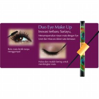SARIAYU Duo Eye Make Up MASCARA + EYELINER HITAM