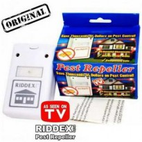 RIDDEX PEST REPELLER / CONTROL / CONTROLLER PENGUSTIR TIKUS,NYAMUK,KECOAK,HAMA AS SEEN ON TV