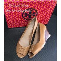 tory burch lowel wedges sz 8