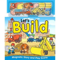 [HelloPandaBooks] Let's Build Magnetic Story and Play Scene Book
