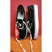 SEPATU VANS AUTHENTIC BLACK MURAH