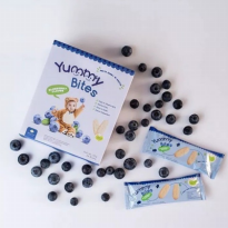 YUMMY BITES BLUEBERRY 1 BOX 12 SASET