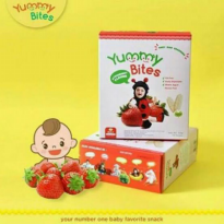 YUMMY BITES STRAWBERRY 1 BOX 12 SASET