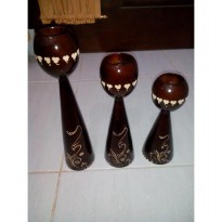 KERAJINAN KAYU JATI MODEL TELOR