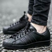 Adidas superstar full black