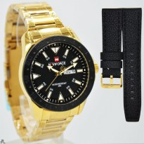 New Available..!!! Tangan Pria Naviforce Original NF-9109 Stainless #7