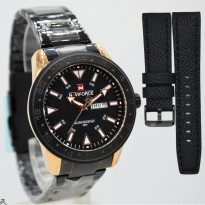 New Available..!!! Tangan Pria Naviforce Original NF-9109 Stainless #4