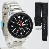 New Available..!!! Tangan Pria Naviforce Original NF-9109 Stainless #2