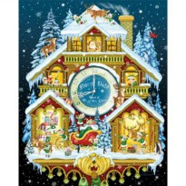 [holiczone] Vermont Christmas Company Christmas Cuckoo Clock Jigsaw Puzzle 1000 Piece/796841