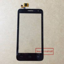 [globalbuy] Black New Front Digitizer Touch Screen Glass For Alcatel One Touch POP D5 5038/2557438