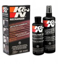 Unik K&N Recharger Kit (K&N Air Filter oil & cleaner)! Berkualitas