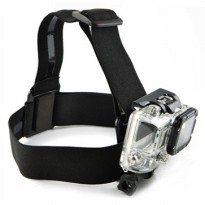 Elastic Adjustable Head Strap with Simple Anti-Slide Glue For Xiaomi Yi/Xiaomi Yi 2 4K/Gopro