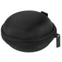 Earphone Storage Case Round Nylon