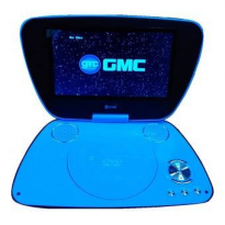Portable DVD Video Player 9 In Gmc Dnx808 R-Tv-Game