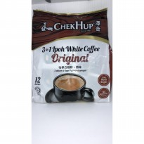 Chekhup 3in1 white coffee original 12s Kopi putih pracampur with rock