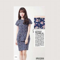 Flowers Small - Navy
