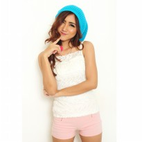 Jfashion New Beanie Hat Topi Kupluk rajut