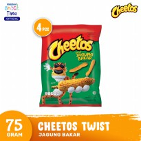 Cheetos Twist Jagung Bakar 75 Gr - 4 Pcs