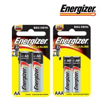 Beksel / Energizer / Duracell card type battery AA / AAA 40 Al