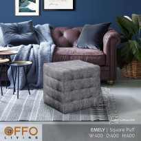 Offo Living - Puff Emely Fabric
