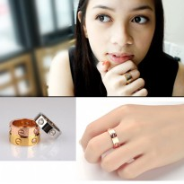 Fashion Ring/Stack up Ring Stainless Steel