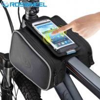 Tas Sepeda Roswheel Double Bag Pouch + Tempat Smartphone 5.5