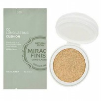 THE FACE SHOP - MIRACLE FINISH refill CC LONG LASTING CUSHION SPF 50 P