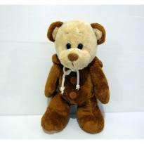Boneka Teddy Bear Brown Super Soft Ming Ren Import Plush Doll