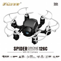 FQ777-126 Mini Spider With 2.0MP HD Camera Dual Mode One Key to Return