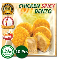 Chicken Spicy Bento 10pcs