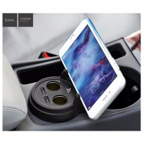 [Star Product] Hoco UC207 Multifunction Car Charger with 2 USB ports Mobil Lighter