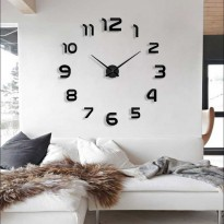 (Sale) Jam Dinding Besar Raksasa Giant Wall Clock Diameter 130cm silent sweep
