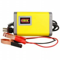 [Diskon] AUTOMATIC BATTERY CHARGER 12V  2A / cas aki otomatis / charger baterai