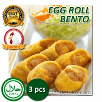 Egg Roll Bento 3pcs