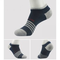 [globalbuy] 1 Pair Retail Unit Pack Men Four Seasons Cotton Shallow Mouth Invisible Ship B/4212862