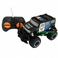 Rock Crawler Exquisite Line Police Jeep - Mainan Mobil Remote Anak 1 : 43 - Ages 6+