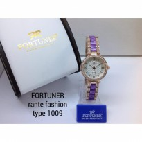 FORTUNER 1009 RANTAI FASHION ORIGINAL ANTI AIR ROSEGOLD UNGU