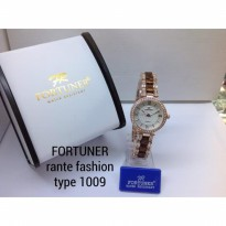 FORTUNER 1009 RANTAI FASHION ORIGINAL ANTI AIR ROSEGOLD BROWN