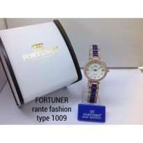 FORTUNER 1009 RANTAI FASHION ORIGINAL ANTI AIR ROSEGOLD BLUE