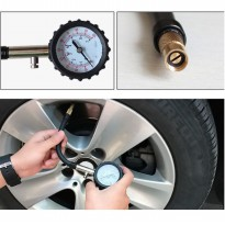Alat Ukur / Pengukur Tekanan Angin Ban Analog High Precision Automobile Tire Pressure Wheel Gauge